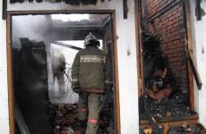 Пожар в магазине электроники в Волжске произошел сразу после закрытия