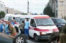 Двое мужчин пострадали в перевернувшемся ВАЗе на Чуйском тракте