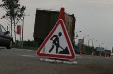 В Туле на Московском шоссе появились новые тротуары и пешеходные переходы