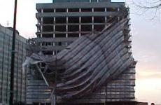 В Махачкале обрушились стены трех частных домов