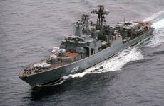 Неотложная помощь: первый военный ледокол «Илья Муромец» задействовали в учениях Северного флота