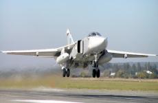 Авиация СФ нанесла бомбовый удар по объектам условного противника