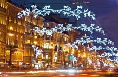 Новогоднее оформление площади Ленина в Воронеже повторит прошлогоднюю тему