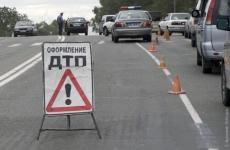 В Казани водитель иномарки устроил массовое ДТП и скрылся