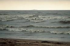 очевидцы засняли смерч над Финским заливом