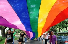 Участника акции «ЛГБТ-спецназ» отпустили из полиции