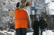 В Богородском округе коммунальщики ликвидируют последствия снегопада