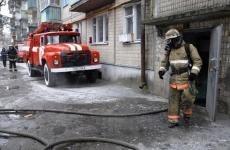 В Улан-Удэ потушили крупный пожар