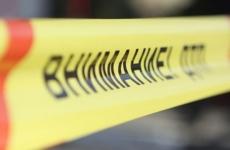 Кроссовер сбил двух человек и врезался в автокран