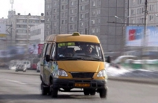 В Пензе на улице Суворова маршрутка с пассажирами попала в массовое ДТП