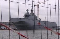 """Источник: на заводе """"Залив"""" начали формировать корпуса будущих кораблей-вертолетоносцев"""