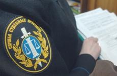 Приставы описывают имущество автоколонны №1310